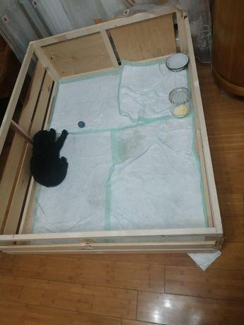Манеж для щенка для дома или квартиры
