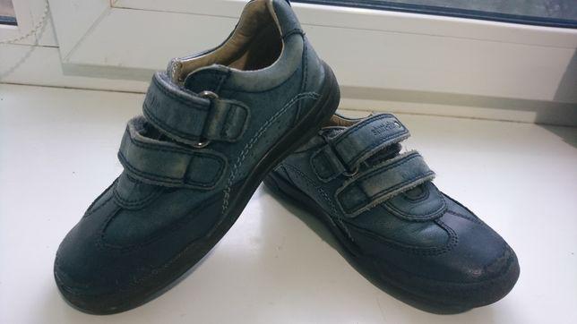 Кожаные туфли-кроссовки, ботинки, длина стельки 16 см