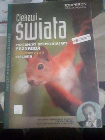 Podręcznik do biologii.