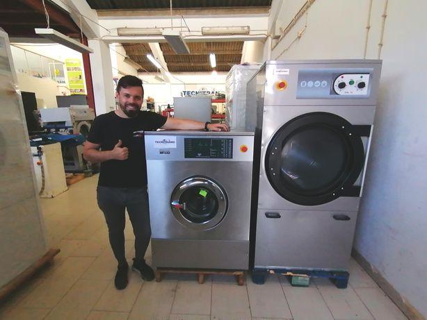 Máquina de lavar roupa industrial 20kg / máquina de secar roupa Self