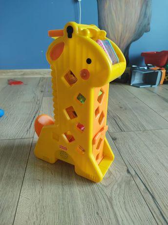 Żyrafa Fisher Price interaktywna
