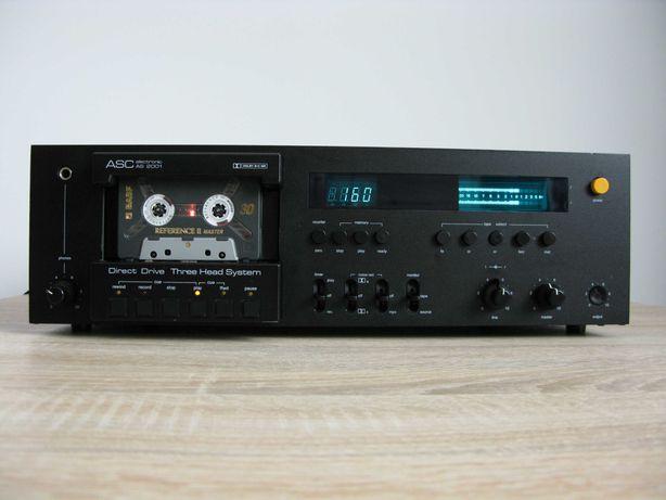 Magnetofon ASC AS 2001 AS 3001 stan Hi-End jak nakamichi pioneer akai