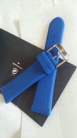 Silikonowy pasek do zegarka TOMMY HILFIGER