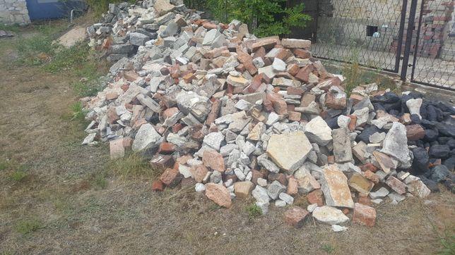 Kamień i gruz oddam za darmo!