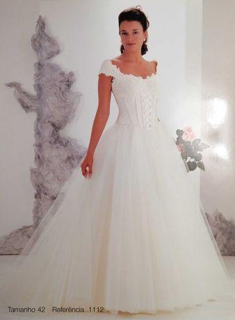 Vestido de Noiva Sposa Nova 1112