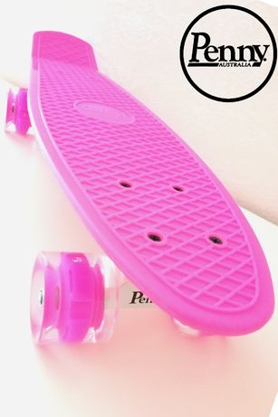 Пенни борд Скейт Розовий. Пениборд 22 Classics . Penny board Classics