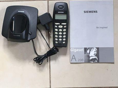 Telefon bezprzewodowy DECT Siemens Gigaset A200