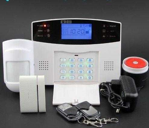 Умная GSM сигнализация 30A звонит на телефон для дома квартиры дачи