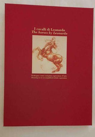 Coleção de impressões dos cavalos de Leonardo da Vinci