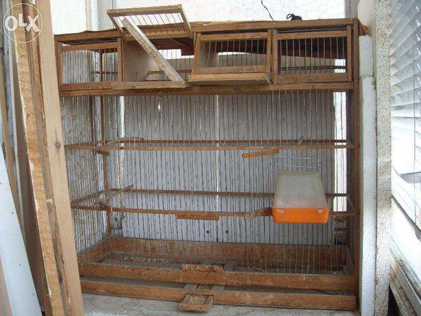 Продам деревянные клетки б/у для птиц