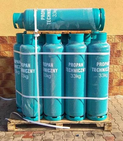 Butla butle propan butan 33kg gaz gazowa PROMOCJA