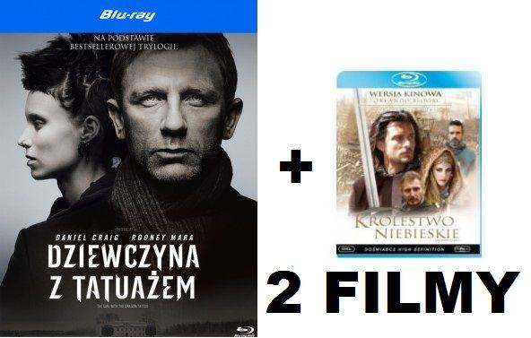 BLU-RAY 2 FILMY full hd jak nowe OKAZJA!