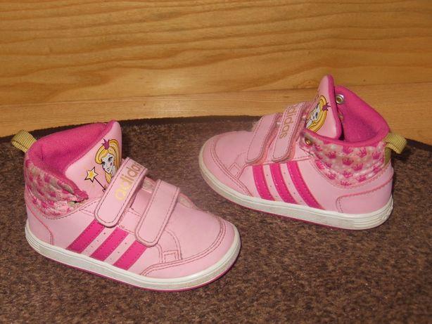 Adidas super wyższe adidasy dla dziewczynki r.22