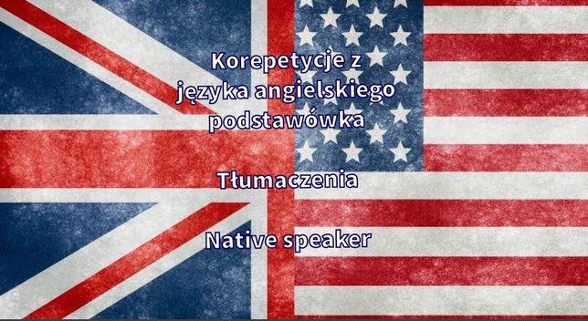 Angielski-korepetycje,tłumacz,lekcje,native speaker