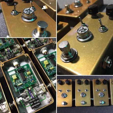 Mysterious Gold efekt gitarowy drive / boost