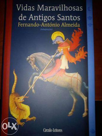 "Livro ""Vidas Maravilhosas de Antigos Santos"""