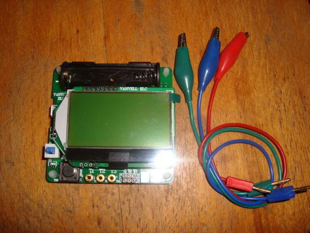М328 транзистор, LCR, ESR тестер