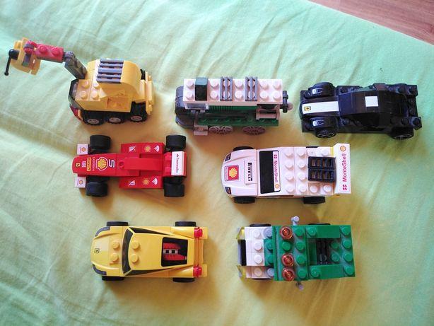 Pojazdy Lego Creator i Ferrari