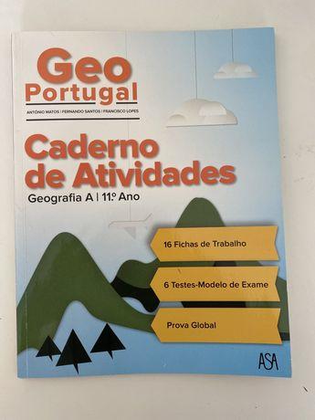 Caderno de atividades de geografia 11°ano ASA