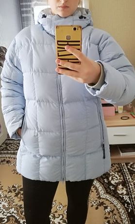Продаю!Куртка зимняя голубая
