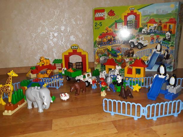 Конструктор Lego Duplo Большой зоопарк 6157