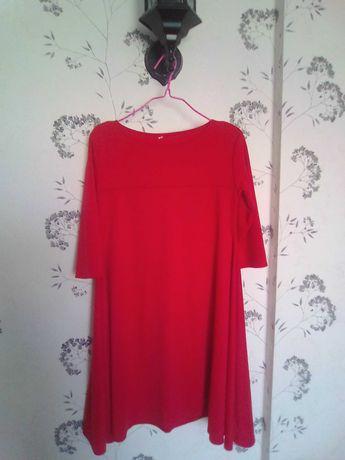Красное платье, трапеция