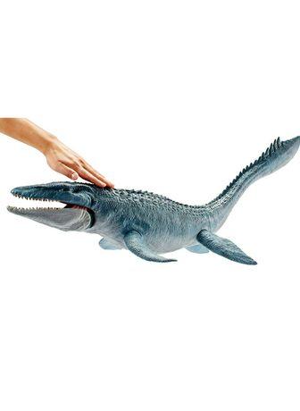 Jurassic world мозазавр большой динозавр оригинал