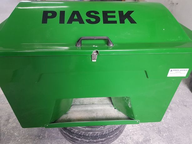 Pojemnik na piasek 360l/ 550kg producent Prolamed