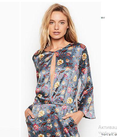 Атласный комбинезон, пижама, ромпер Victoria's Secret (размер XS)