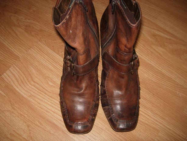 Ботильены, ботинки, полусапоги, Tamaris, натуральная кожа, 41 р-р