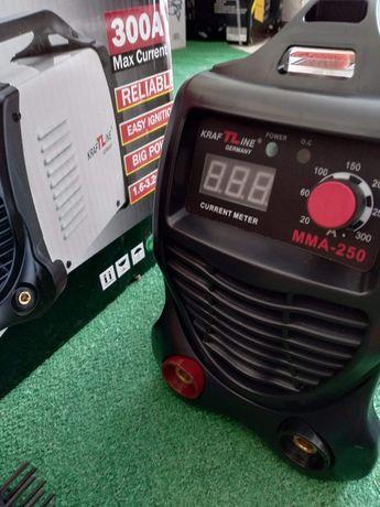 Aparelho soldar inverter eletrodos 300a digital marca alemã