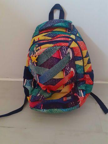 Kolorowy plecak szkolny ST.RIGHT