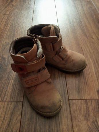 Buty zimowe/trzewiki skórzane r. 27 Lasocki Kids