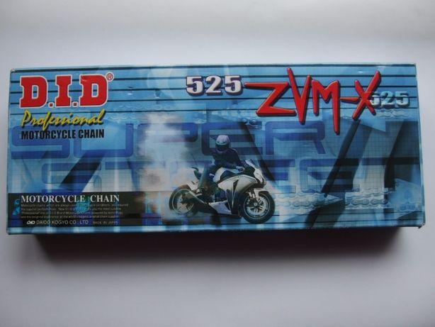 NOWY łańcuch motocyklowy did ZVMX 525 transalp 600 118 ogniw