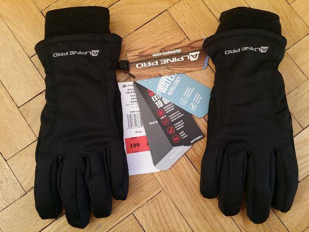 Rękawice Softshell Alpine Pro - nowe - rozmiar M - Kahug