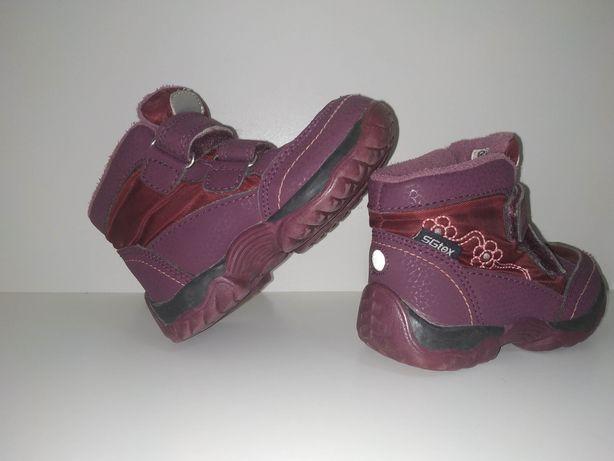 Осенние ботинки для девочки 21 размер