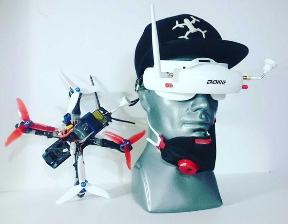 Czapka dron fpv Droniarz