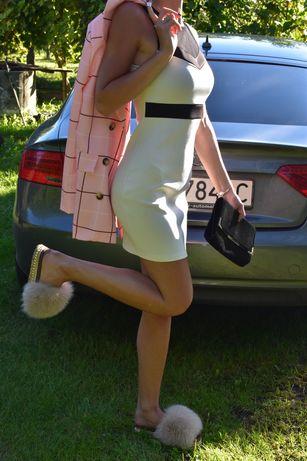 Sukienka biała damska