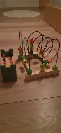 Dziecko zabawki Ikea przebijak przekładak