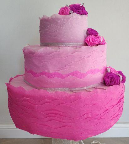 Piniata Tort na każdą okazję, Wesele, Ślub, Urodziny