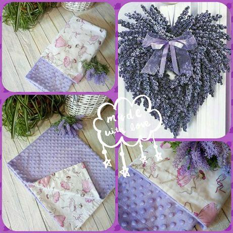 Плед плюш минки 100х80см одеяло на выписку качественный пошив