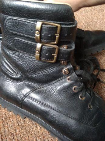 Ботинки кожаные мужские