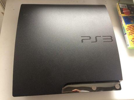 БУ PlayStation 3 Slim 120 Гб ПРОШИТАЯ + ИГРЫ + ГАРАНТИЯ 8 мес.