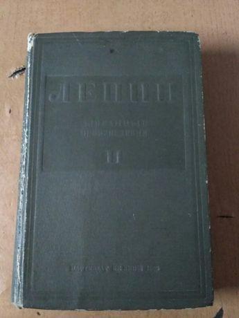 Книга В.И. Ленин избранные произведения 1935г