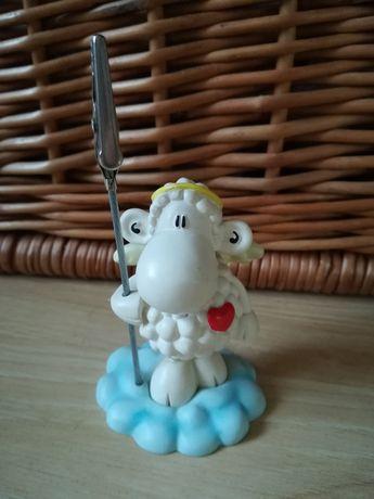 Klips do karteczek Sheepworld, figurka owieczka na biurko, klamerka
