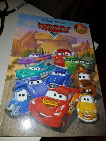 Livro Disney carros