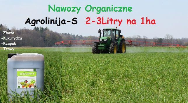 Nawóz Na Trawy Zboża Kukurydzę w Płynie 25L Ekologiczny na 12 hektarów
