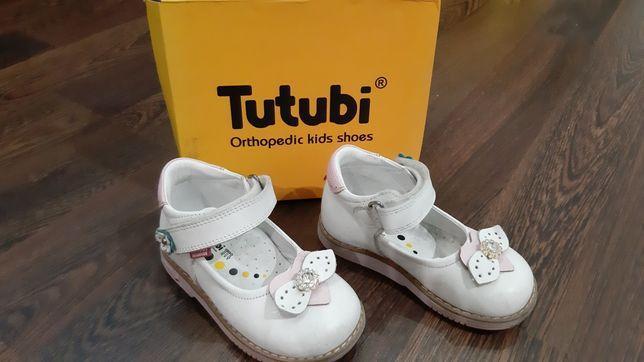 Ортопедические туфли Tutubi на девочку,обувь Tutubi на девочку.
