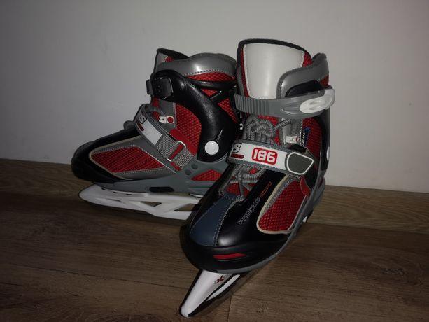 Łyżworolki, łyżwy hokejowe Nils Extreme 186