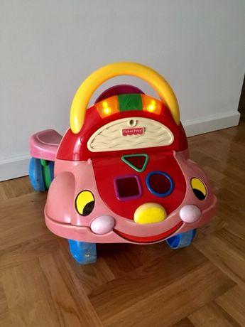 Samochód Fisher Price Jeździk Chodzik